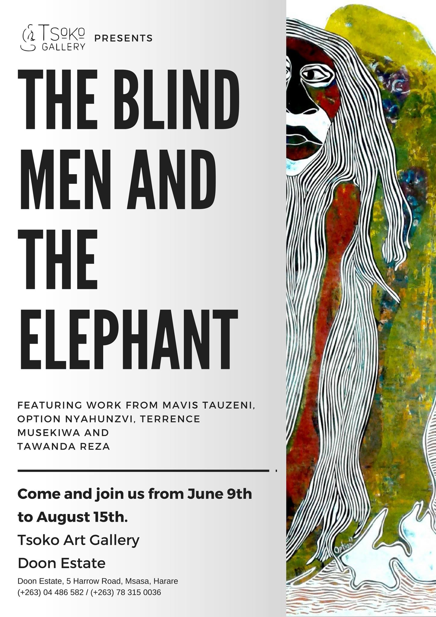 the blind men and the elephant - HD1448×2048